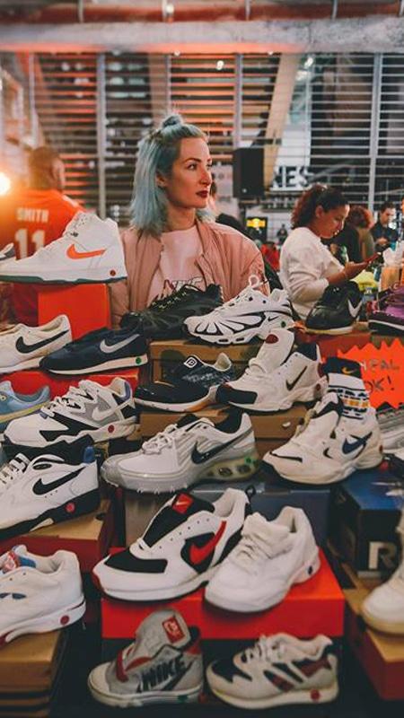 La définition de l'expression SneakerHead. 3
