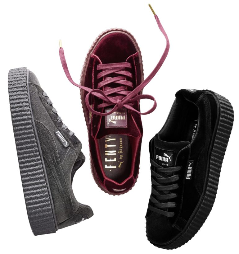 Clair Creepers Grise Creepers Puma Grise Puma Creepers Grise