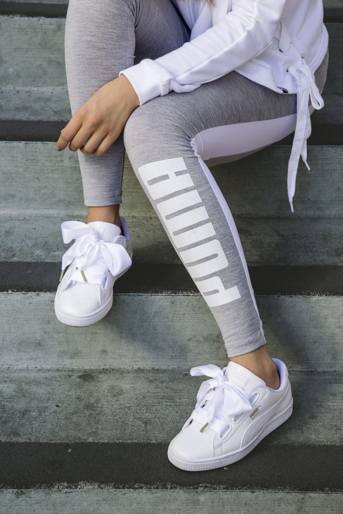 Puma Heart Blanche Look