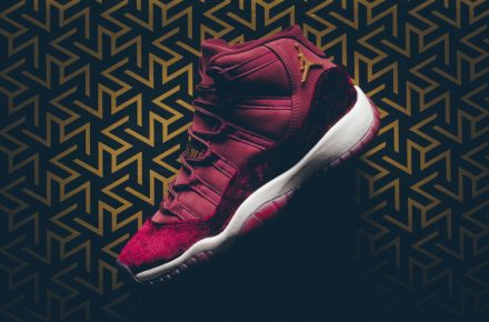 Air Jordan 11 Velvet Night Maroon