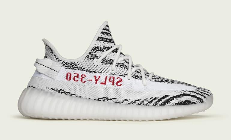 Yeezy Boost 350 V2 Zebra