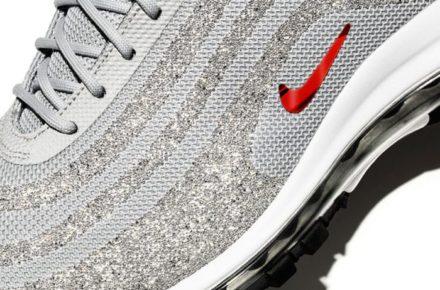 NikeAir Max 97LX Silver Bullet Swarovski