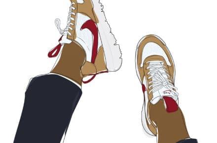 XvIllustratrice Amoureuse De Rencontre Sneakers Cam Et Avec YWD9IE2eH