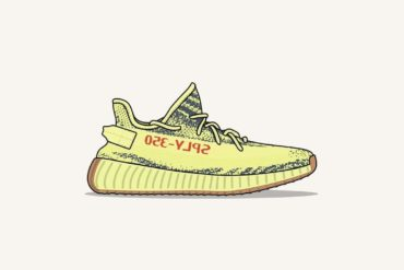 Yeezy Yebra Semi Frozen Yellow