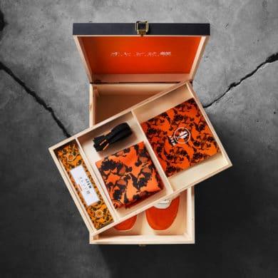 Afew Gel Lyte III Orange Koi