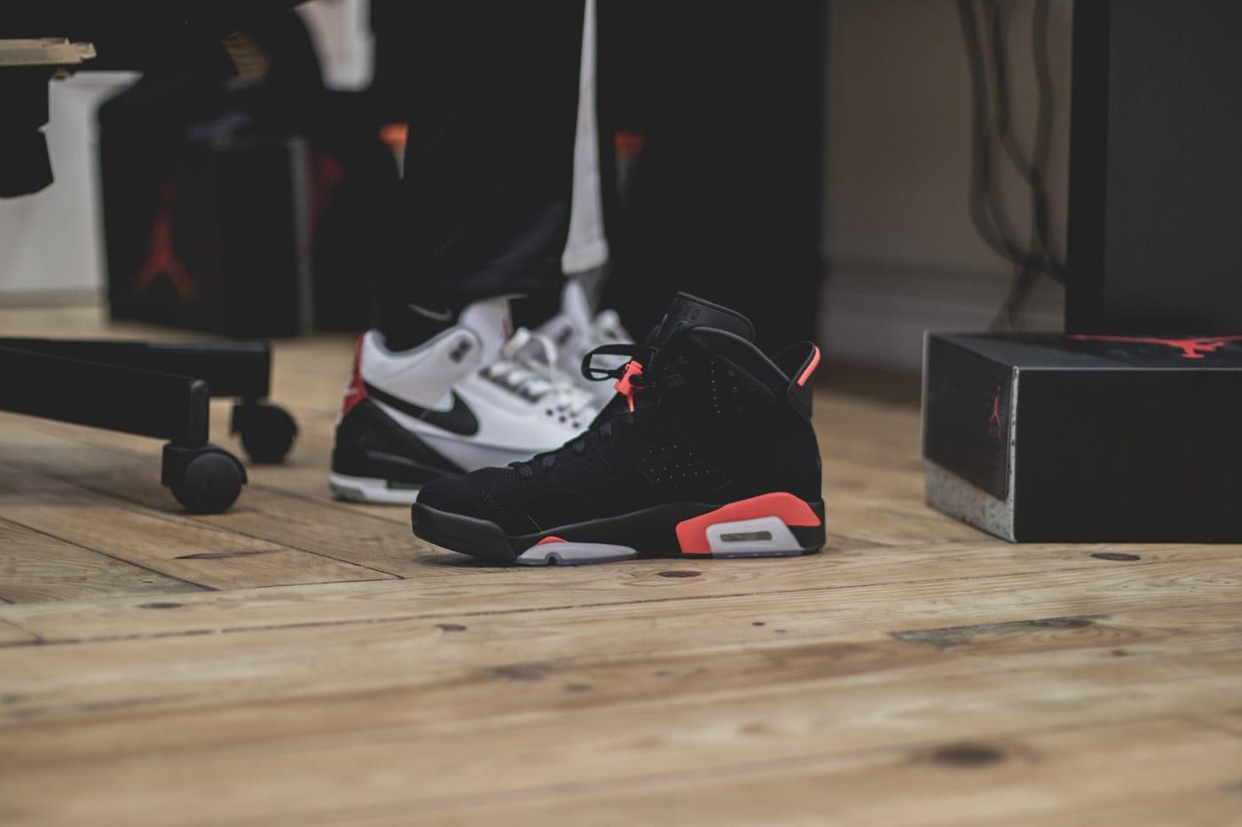 Air Jordan 6 Infrared, le retour d'une légende. 1