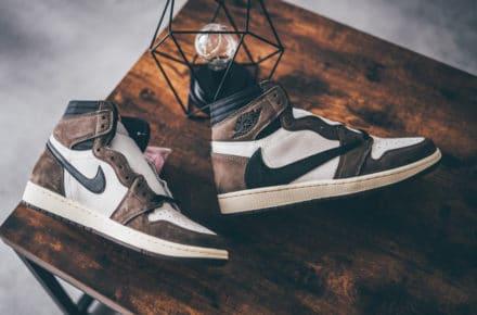 Air Jordan 1 Retro High Travis Scott Cactus Jack