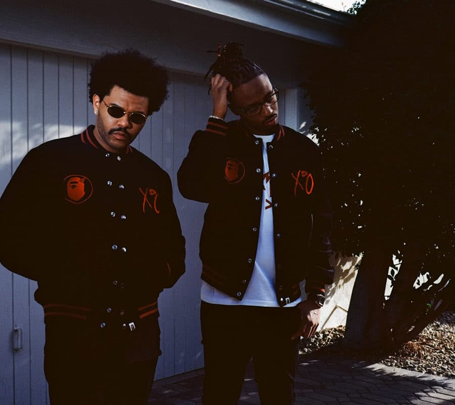 BAPE Til We Overdose x THE WEEKND
