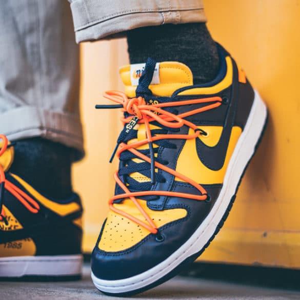 Nike SB Dunk low OFF WHITE Michigan
