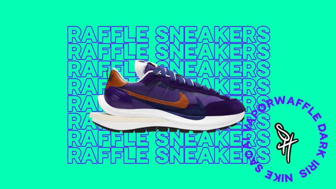Raffle Nike Sacai Vaporwaffle Dark Iris DD1875-500